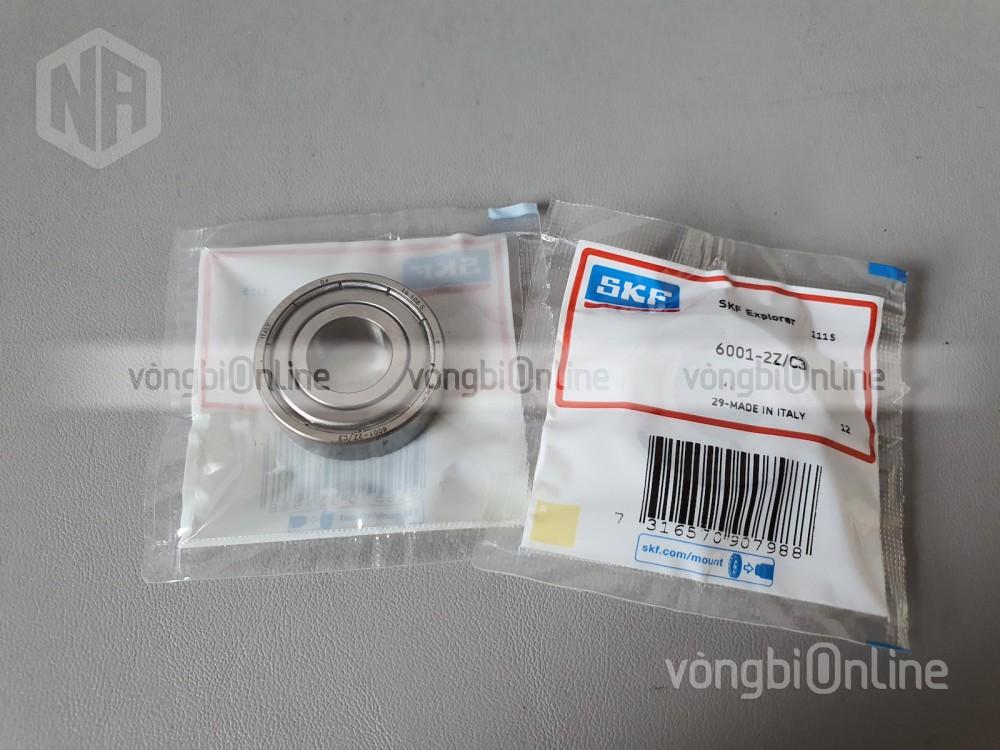 Hình ảnh sản phẩm vòng bi 6001-2Z/C3 chính hãng SKF