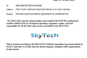 Skytech become Official Agent of BUGANG